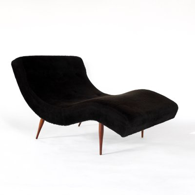 Mid Century Wave Chaise Lounge Chair By Adrian Pearsall For Craft Ociates 1960s 1