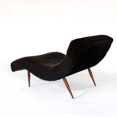 Magnificent Mid Century Wave Chaise Lounge Chair By Adrian Pearsall For Craft Associates 1960S Camellatalisay Diy Chair Ideas Camellatalisaycom