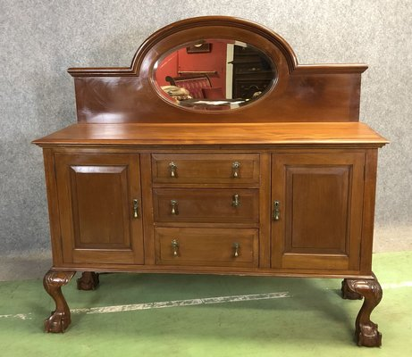 Vintage Mahogany Chippendale Sideboard 1920s For Sale At Pamono