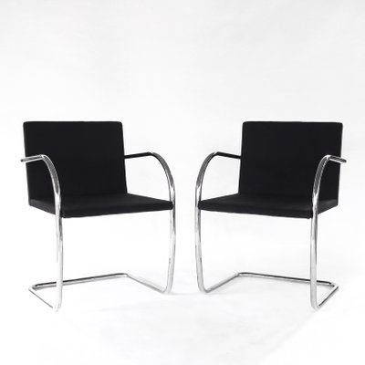 Brno Chairs By Mies Van Der Rohe For Knoll 1970s Set Of 2 For Sale