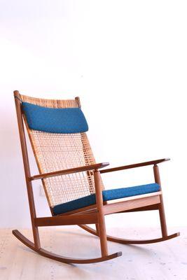 best loved b9f57 2324e Teak Rocking Chair by Hans Olsen for Juul Kristensen, 1956