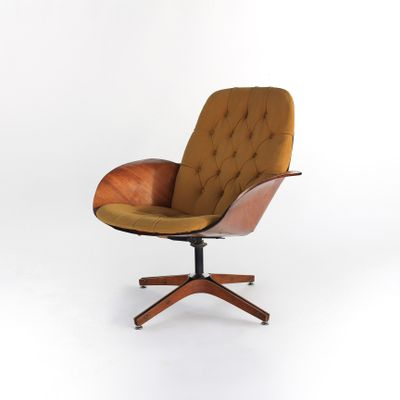 Prime Mrs Chair Lounge Chair By George Mulhauser For Plycraft 1960S Ibusinesslaw Wood Chair Design Ideas Ibusinesslaworg