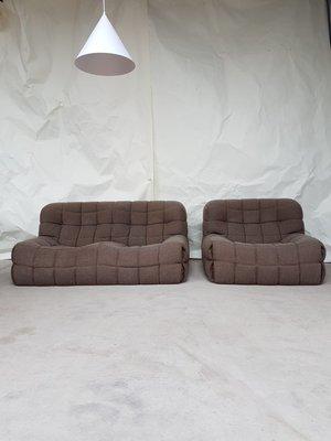 Ligne Roset Hoekbank.Mid Century Kashima Modular Sofa Chair By Michel Ducaroy For Ligne Roset