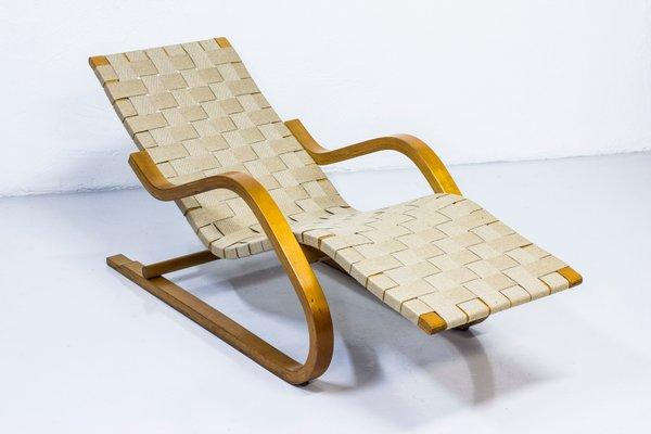 Pleasing Vintage Model 39 Chaise Lounge By Alvar Aalto For Artek Pabps2019 Chair Design Images Pabps2019Com