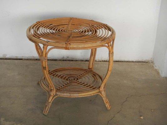 En Et Rotin OsierItalie Table Basse Vintage WIHED29