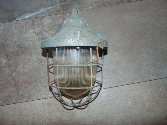 Lampada Vintage Industriale : Lampada vintage industriale in alluminio anni in vendita su