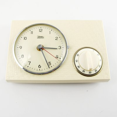 Ceramic Kitchen Clock With Timer From
