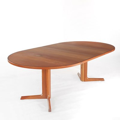 Danish Teak Extendable Dining Table By Niels Moller For Gudme For
