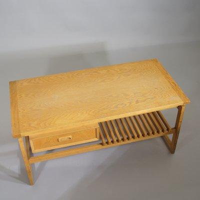 Panca Ikea Legno.Panca In Quercia Con Cassetto E Mensola Di Ikea Anni 60