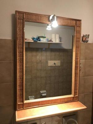 Vendita Specchi Da Bagno.Mensola Da Bagno Vintage Con Specchio In Vendita Su Pamono