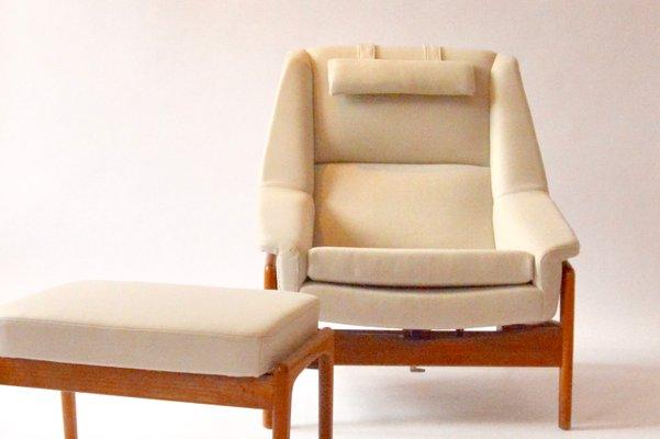 Poltrona Reclinabile Con Poggiapiedi Ikea.Poltrona Reclinabile Con Poggiapiedi Di Folke Ohlsson Per Dux
