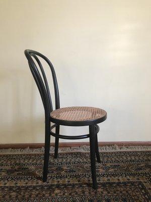 Schwarzer Stuhl Von Thonet 1970er Bei Pamono Kaufen