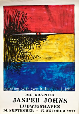 Jasper Johns-Numbers in Color-1976 Poster