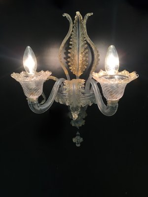 Vintage Wall Light By Ercole Barovier