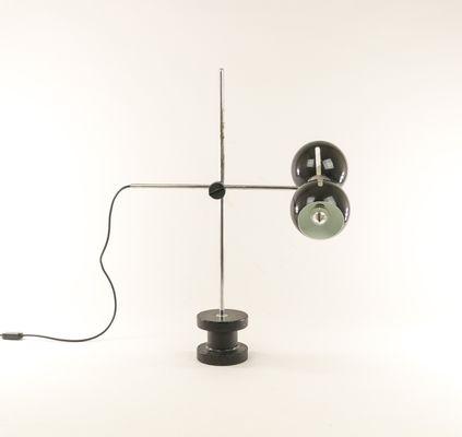 con hierro regulable base 70 mesa Lámpara de fundido Valentiaños de de bf67gy