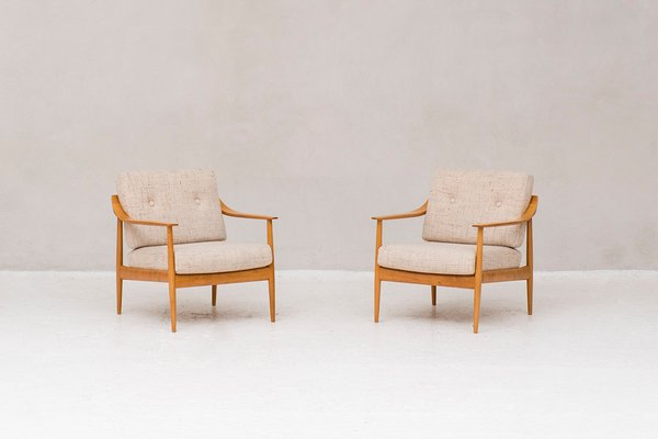 Easy Chairs By Walter Knoll 1950s Set Of 2