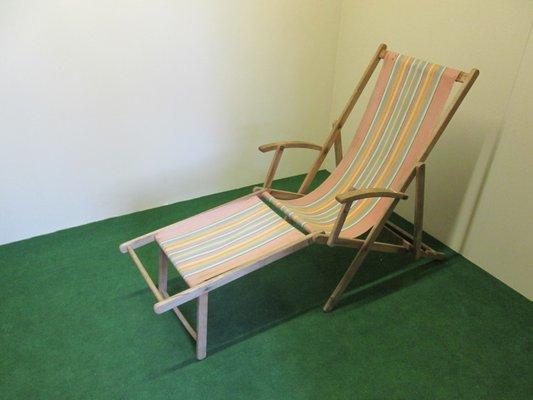Enjoyable Beach Lounge Chair 1950S Camellatalisay Diy Chair Ideas Camellatalisaycom