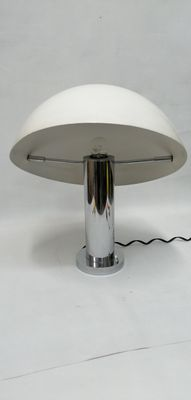 Italienische Vintage Lampe Mit Schirm In Helm Optik 1970er