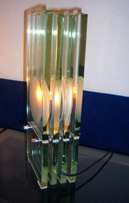 fb6a39a1ddb Crystal Table Lamp by Max Ingrand for Fontana Arte