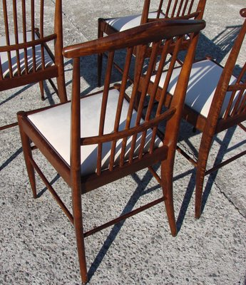 Rosewood Chairs, 1960s, Set Of 4 2