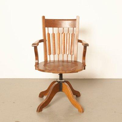 Bureau Chaise En Antique De Chêne 45RLAjq3
