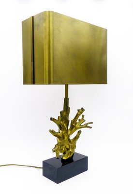 Coral Table Lamp From Maison Charles, 1970s