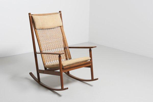 on sale 5052b 72ffa Rocking Chair by Hans Olsen for Juul Kristensen, 1950s