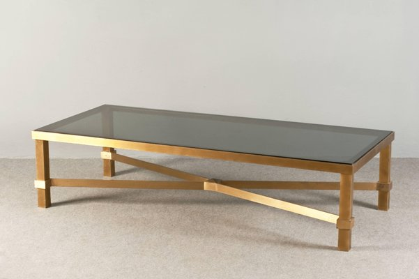 Vintage Brass Coffee Table 1970s For Sale At Pamono