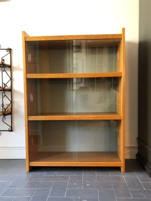 new concept a0f53 b6f62 Vintage Bookcase with Glass Front