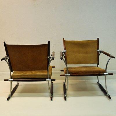 Dänische Stokke Sessel Von Jens Quistgaard Für Nissen 1960er 2er