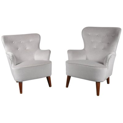 L Anfora Rattan Amphoren Lounge.Lounge Chairs By Theo Ruth For Artifort 1950s Set Of 2 For Sale