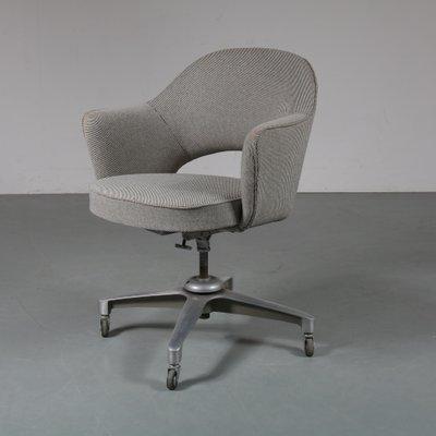 Vintage Swivel Desk Chair 1960s For