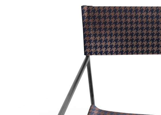 Strange No 14 Black Armchair With Royal Blue Houndstooth Leather By Christian Watson Pdpeps Interior Chair Design Pdpepsorg