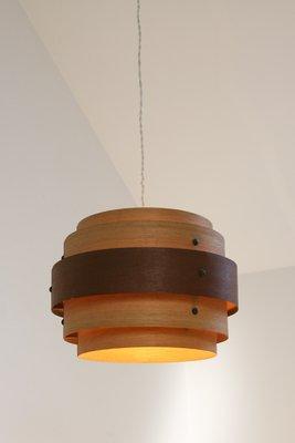Deckenlampe Mit Holzfurnier 1940er Bei Pamono Kaufen