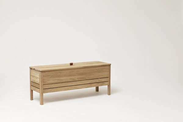 Awesome A Line Storage Bench Oak From Formrefine Short Links Chair Design For Home Short Linksinfo
