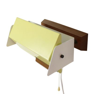 Yellow White Bedside Wall Light From Hiemstra Evolux