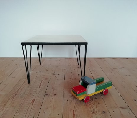 Side Table With Hairpin Legs, 1950s