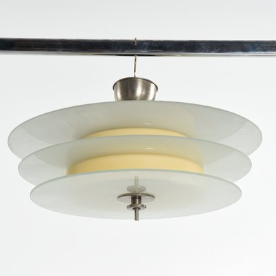 Vintage Art Deco Ceiling Lamp From Böhlmarks 1930s