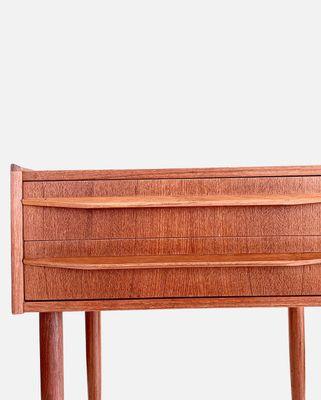 Mid TeckDanemark1960s Chevet De Century Table En ZOXiPku