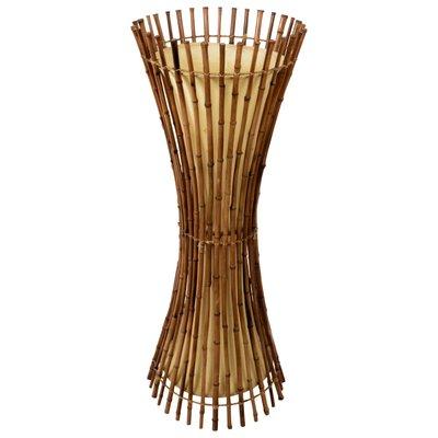 Mid Century Bamboo & Rattan Floor Lamp, 1960s