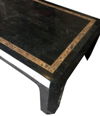 Marble And Shell Coffee Table From Maitland Smith 1970s