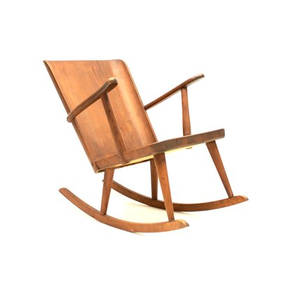 Strange Pine Rocking Chair By Goran Malmvall For Karl Andersson Soner 1940S Machost Co Dining Chair Design Ideas Machostcouk
