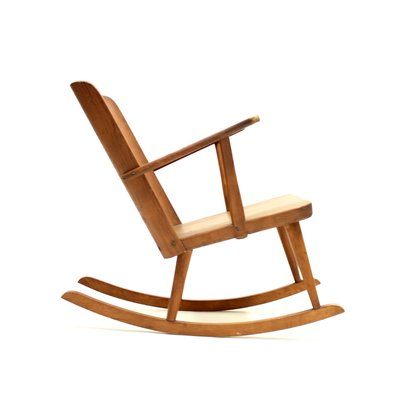 Admirable Pine Rocking Chair By Goran Malmvall For Karl Andersson Soner 1940S Machost Co Dining Chair Design Ideas Machostcouk
