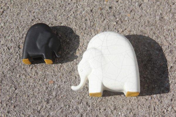 Porcelain Elephants Set from Studiolinea, 1970s