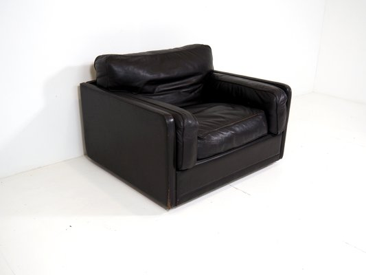 Vintage Leather Armchair From Poltrona Frau For Sale At Pamono