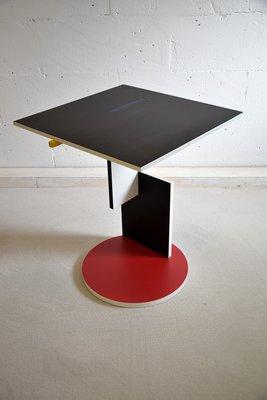 Tavolino Di Rietveld.Tavolino Di Gerrit Rietveld Per Cassina 1990