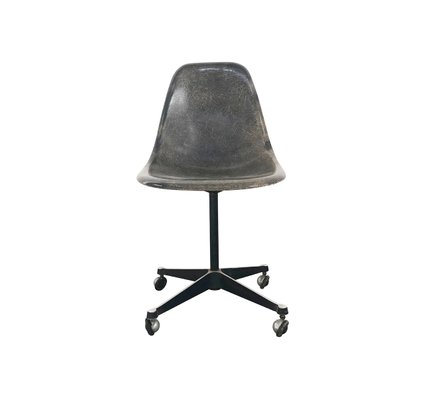 Antiques Mid Century Modern Vintage Eames Dcm Lounge Desk Chair By Herman Miller At Any Cost