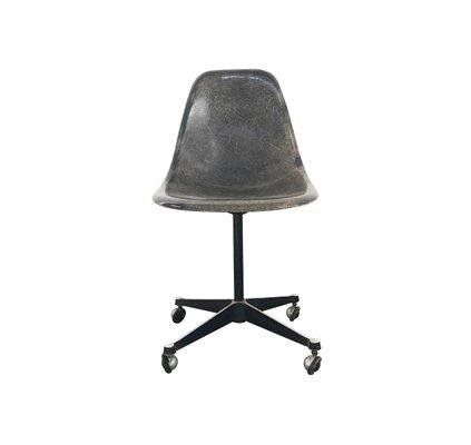 Sedia Eames Ufficio.Sedia Da Ufficio Mid Century Di Charles Ray Eames Per Herman Miller Anni 50