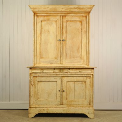 Large 19th Century French Kitchen Cabinet 1890s