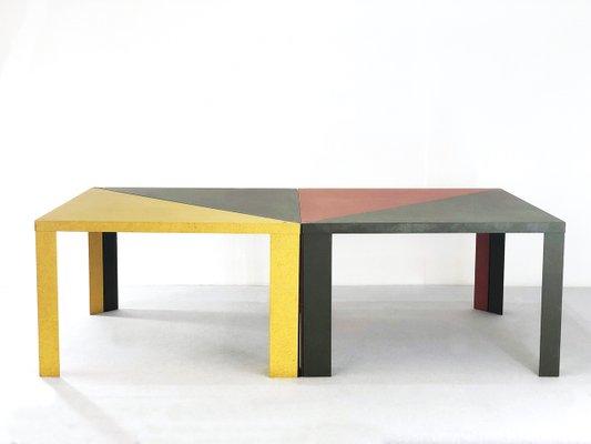 Tavoli Da Pranzo Cassina.Tavolo Da Pranzo Tangram Vintage Di Massimo Morozzi Per Cassina In